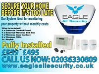 Intruder Alarm - Burglar Alarm - 2 YEARS warranty prices from £495