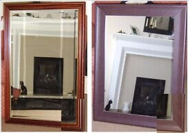 2 Lovely Large Mirrors