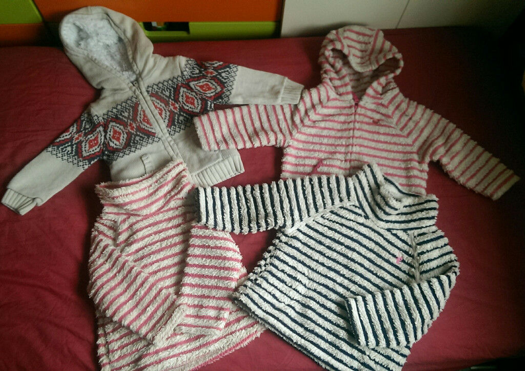 Jumpers and cardigans for a girl 18-24 month 1.5-2 years from Next, M&S