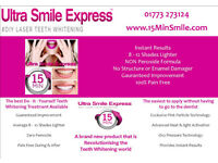 Teeth Whitening Ultra Smile Express 15 Minute Smile