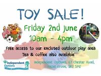 Toy Sale and Play Day