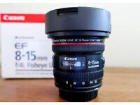 CANON EF 8-15mm f/4 L USM