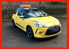 £30 wk STUNNING!! citroen DS3 THP DSPORT 1.6 petrol manual 2010 (60) NEW mot ALLOYS