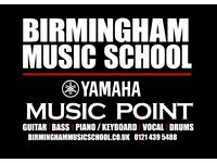 Professionally trained Yamaha Teachers - Book a free trial today! Guitar, Bass, Drums, Vocals, Piano