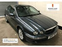 Jaguar X - Type Automatic, Telephone, Parking Sensors, 3 Month Warranty