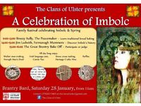 Celebrate Imbolc/Spring at the Brantry BARD - baking, craft workshops, storytelling, and more