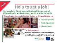 Do you have a disability and want a job?