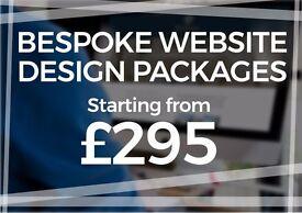 Web Design Glasgow | £295 Bespoke Website Design Package | Free Logo Design