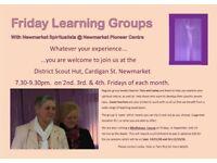 Spiritualist Open Circle at Newmarket Spiritualist Pioneers.