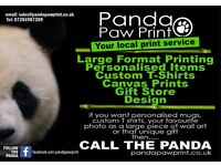 Personalised Print Products - Mugs, TShirts, Coasters, Posters , Canvas Prints - Free delivery S35