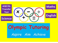 AQE/GL Transfer Test Tuition and GCSE Maths and English Tutors
