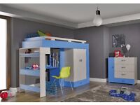 KOMI COLLECTION, CHILDREN,BEDROOM,STORAGE,FUNCTIONALITY, PRICES START FROM £59! !DELIVERY AVAILABLE!