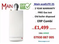 £1499 COMBI BOILER SUPPLY & INSTALLATION,main 25kw,tanks removed,central heating,UNDERFLOOR HEATING