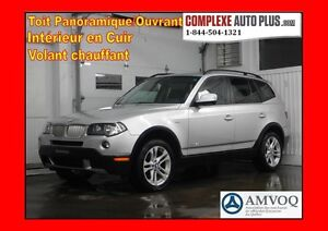 2010 BMW X3 xDrive3.0i *Toit pano. Cuir, Mags, AWD