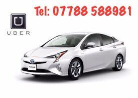 Rent New Shape Toyota Prius £149/w Unlim mileage Uber Ola Bolt PCO Car Taxi Mini Cab Hire