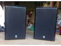 Yamaha NX-E300 speakers.