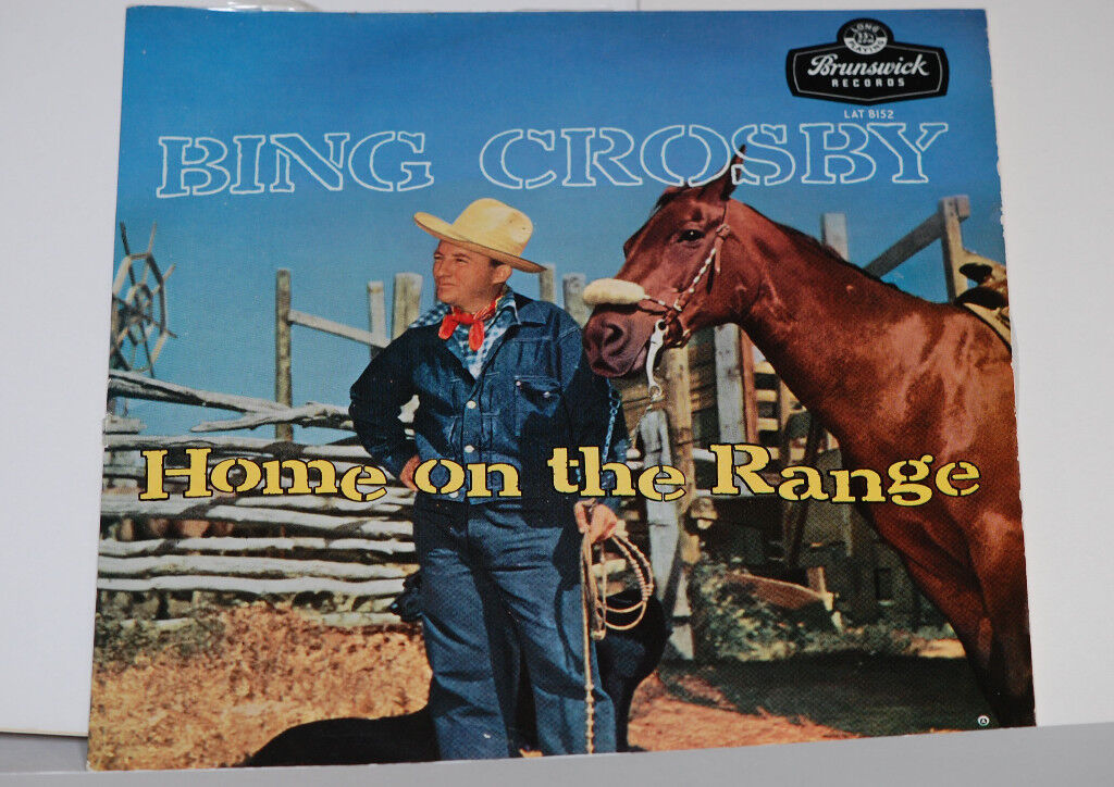 bing crosby home on the range album record in excellent condition