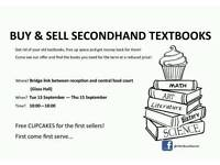 Bring all secondhand textbooks