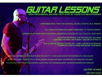 Guitar Lessons - Brighton - learn funk, rock, metal, indie, reggae, folk. Electric and Acoustic