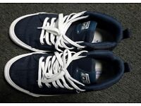 Almost new Blue and White 'All Star Converse' shoes