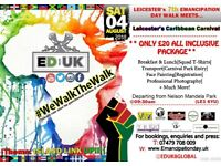 [FREE FOR CHILDREN] EMANCIPATION DAY UK - LEICESTER