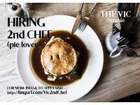 2nd Chef - Full Time - £10ph + Tips + bonuses