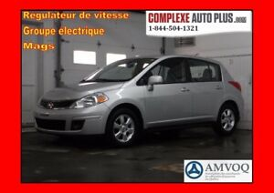 2012 Nissan Versa 1.8 SL Hayon *Mags,A/C,Cruise, Groupe élec.