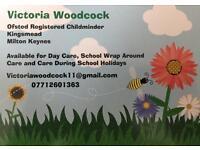 Victoria Woodcock - Ofsted Registered Childminder