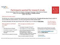 Wanted: Research participants for MND research - £30 shopping vouchers - Online