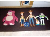 toy story figures choice of woody/buzz/lots/tata head