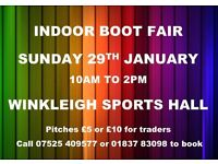 Indoor Boot Fair - Devon