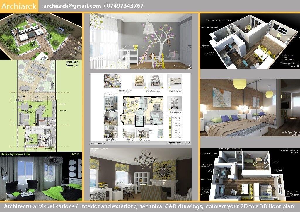 Low Cost Architectural Visualization Interior And Exterior Unique 2D Interior Design Exterior