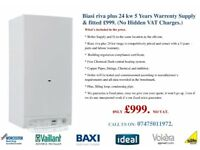 Boiler installation Supplied & Fitted Biasi riva plus 24 kw £999.00 NO VAT ( 5 Years warranty.)