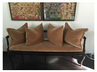 Vintage Brown Chaise from Italy