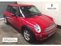 2004 54 Mini One 1.6 *Immaculate*Full Stamped History, Pan Roof, Leather, Air Con, 3 Month Warranty