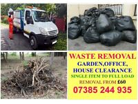 Waste/RUBBISH removal OFFICE,GARDEN,HOUSE,SHOP CLEARANCE, MATTRESS,FRIDGE,WASHING MACHINE CLEARED