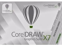 COREL X8 + X7 GRAPHICS DESIGN SUITE