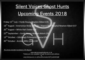 Ghost Hunt at Old Forde House