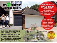 monstergaragedoors, roller garage doors Sale £899 10 year Guarantee, Poulton,cleveleys,Blackpool