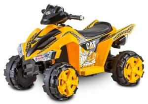 Kid Trax CAT Power ATV 6V Electric Ride on, Yellow - BRAND NEW - FREE SHIPPING