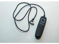 Canon DSLR manual remote control