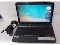 Acer Aspire 5735 laptop - 1GB, 160Gb HDD, Win Vista.
