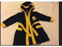 Boy's Dressing Gown Size 12-18 Months