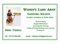 Women's Land Army Gardening Services