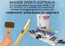 Cricket Bat Knocking (Knocking-in) Service by MACHINE COMPUTRISED Kings Park Blacktown Area Preview