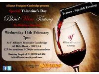 Valentine's Day Franco-Spanish Blind Wine Tasting