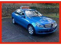 fully LOADED!! Mercedes C class C180 blueEfficiency se EXECUTIVE petrol 2010 (60) automatic ALLOYS