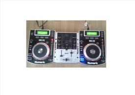 Pair of Numark NDX 200's and mixer for sale.........cheap!