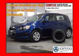 2014 Chevrolet Sonic LS Hayon *A/C, Bluetooth, 8 pneus été/hiver