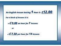 ENGLISH TEACHER- ONE TO ONE-PRONUNCIATION-CONVERSATION-GRAMMAR & SKYPE